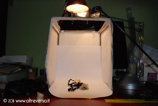 Un mini-set fotografico fai da te per foto still-life delle nostre creazioni
