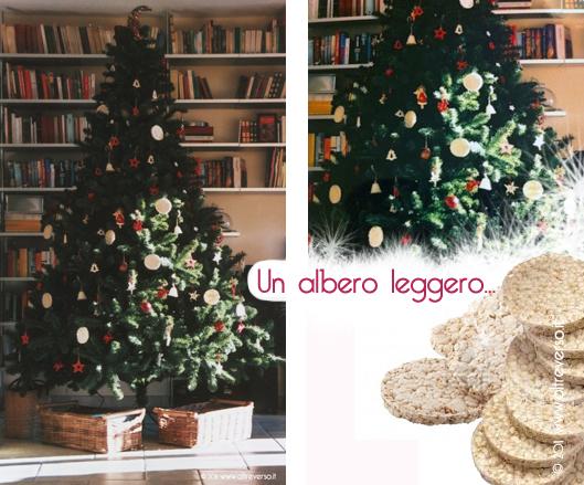 Albero Di Natale Con Biscotti Bucaneve.Addobbare L Albero Di Natale Fai Da Te Con Le Cialde Di Riso