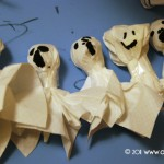 Halloween: tutorial per fantasmini last minute