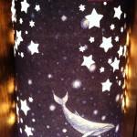 Lanterna con balene di Shomey Yoh