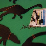 Dinosaur book dividers