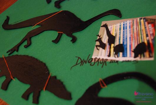 Dinosaur book dividers