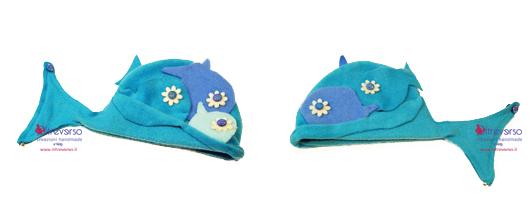 Cappello in feltro per bimbi piccoli per carnevale