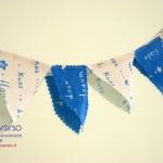 Bandierine decorative per feste di compleanno e di carnevale
