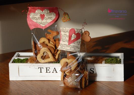 Packaging per biscotti di San Valentino