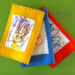 quadernetti personalizzati con copertine in feltro