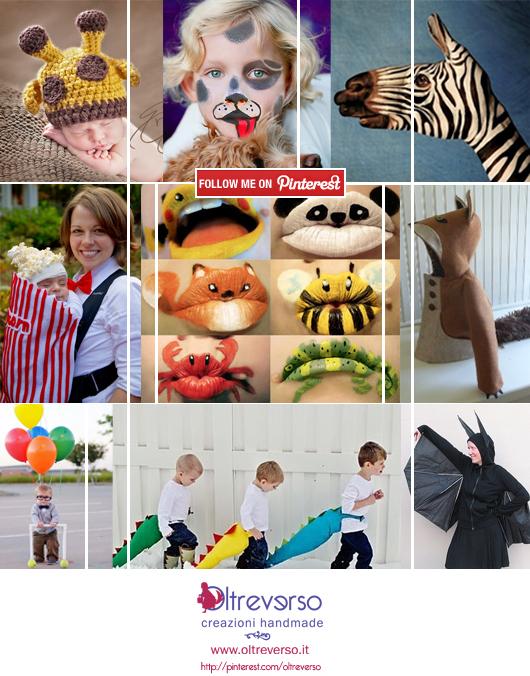 Idee per costumi e trucchi di Carnevale