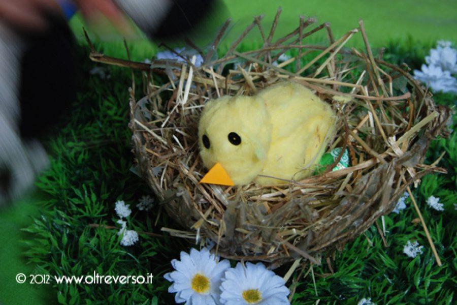 Un nido per il pulcino di Pasqua