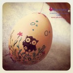 Easter Egg Embossing