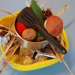 Cucina da campeggio per i bambini