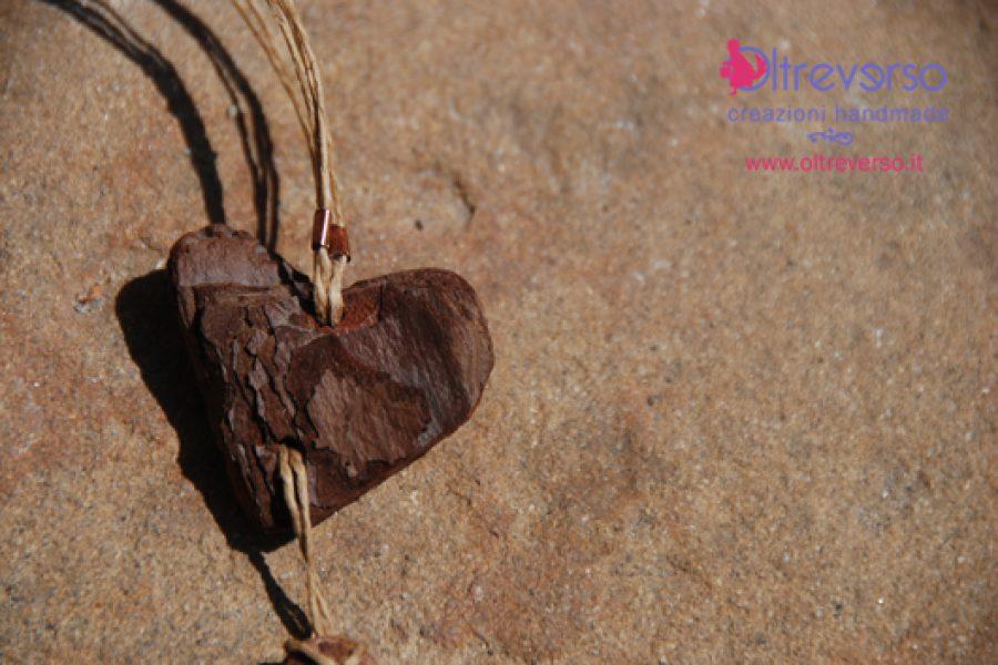 Driftwood necklace: da legnetto a collana grazie al fimo