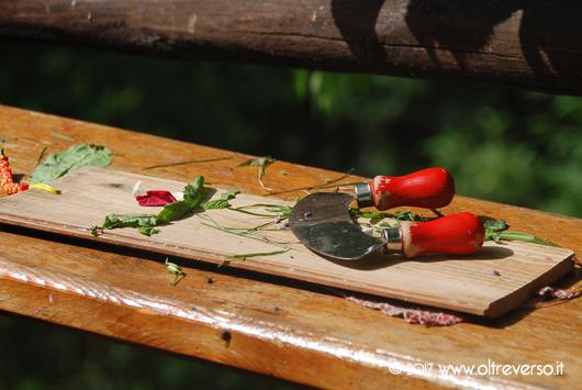 una cucina panchina per bambini per giocare d'estate