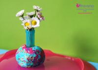 min_festadellamamma_tutorial_lavoretto_bambinipiccolissimi_playdo_riciclotappipennarelli_vasetto