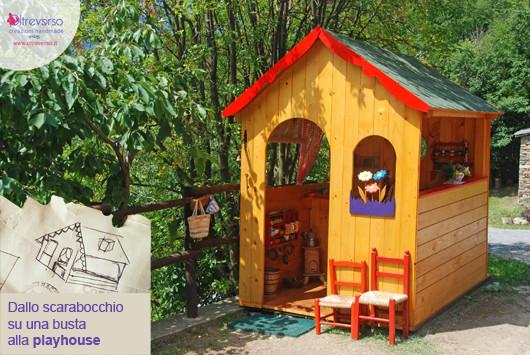 Capanna bambini faidate lista della spesa cosa serve da dove iniziare - Costruire una casetta di cartone per bambini ...