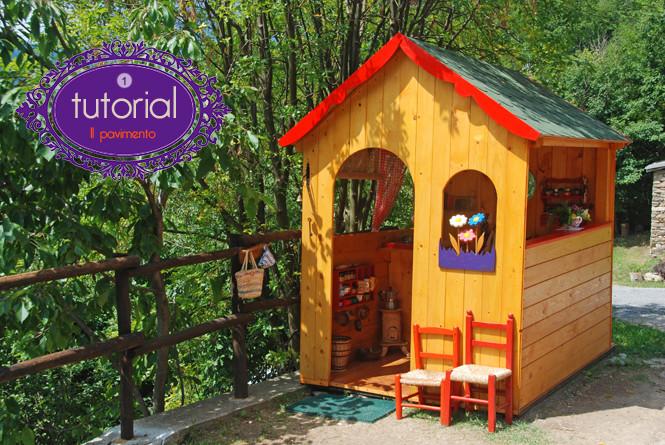 Come costruire il pavimento della casetta dei bambini in for Casetta legno bambini fai da te