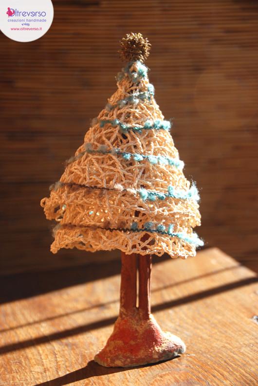 Lavoretti Di Natale Handmade.11 Tutorial Di Alberi Di Natale Fai Da Te Handmade Riciclando