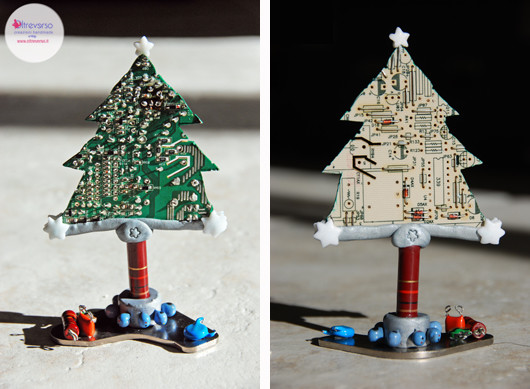 Albero Di Natale Con Cannucce Di Carta.11 Tutorial Di Alberi Di Natale Fai Da Te Handmade Riciclando
