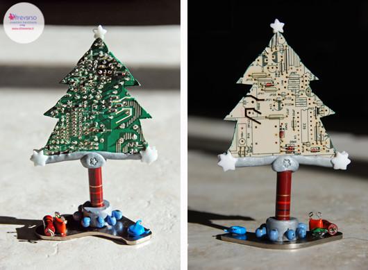 alberodinatale_christmastree_ricicloschedeelettroniche_computerrecycling_motosaw_dremel