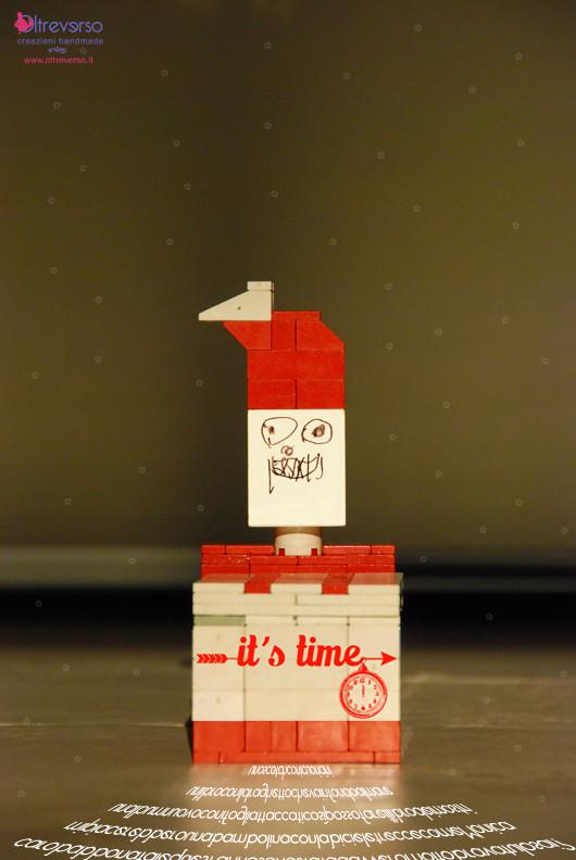 Christmas box con i lego per la letterina a babbo natale - Babbo natale porta i regali ai bambini ...