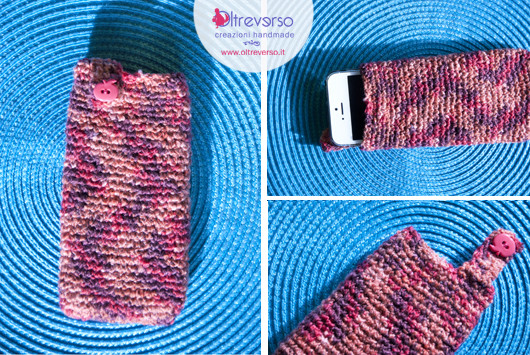 Cappuccetto rosso e la cover a crochet diy per l'iphone e lo