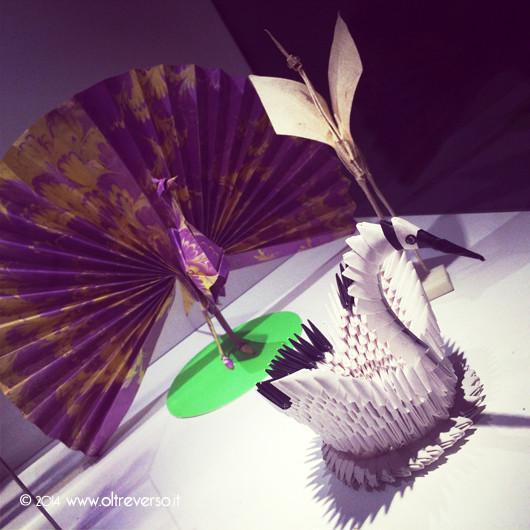 mostraorigami-spiritodicarta-torinopalazzobarolo-cigno-pavone