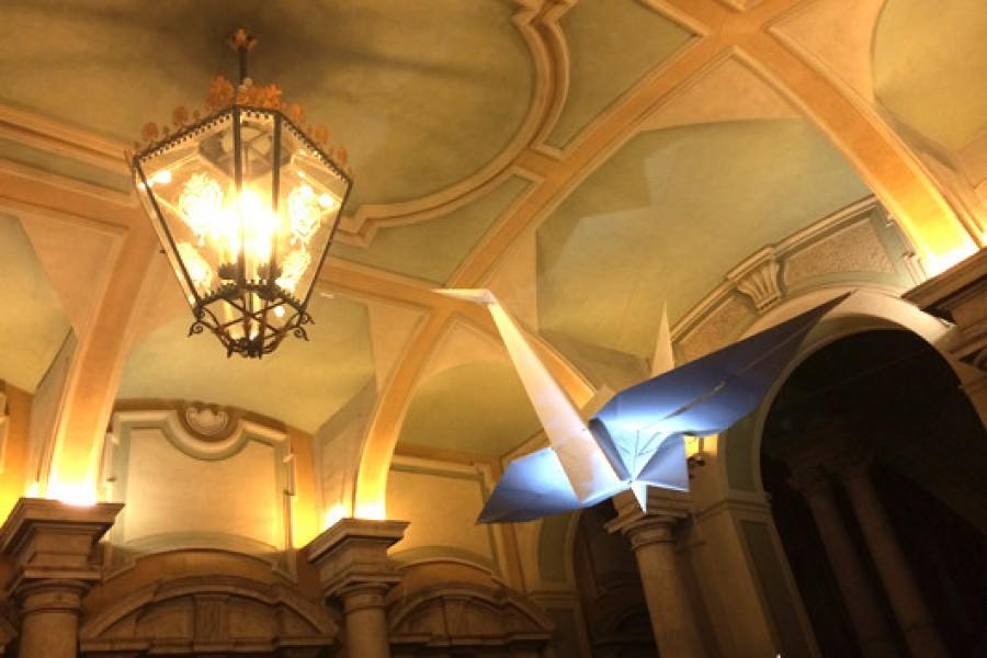 Mostra Origami a Torino a Palazzo Barolo: Spirito di Carta