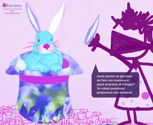 gioco del coniglio lavoretti di Pasqua