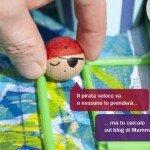 Un labirinto dei pirati per la raccolta di Riciclo Creativo per Bambini di Mammabook