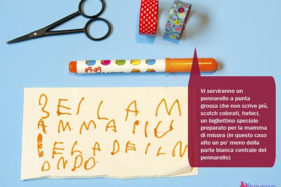Idee per lavoretti con i bambini last-minute e last-second per la festa della mamma
