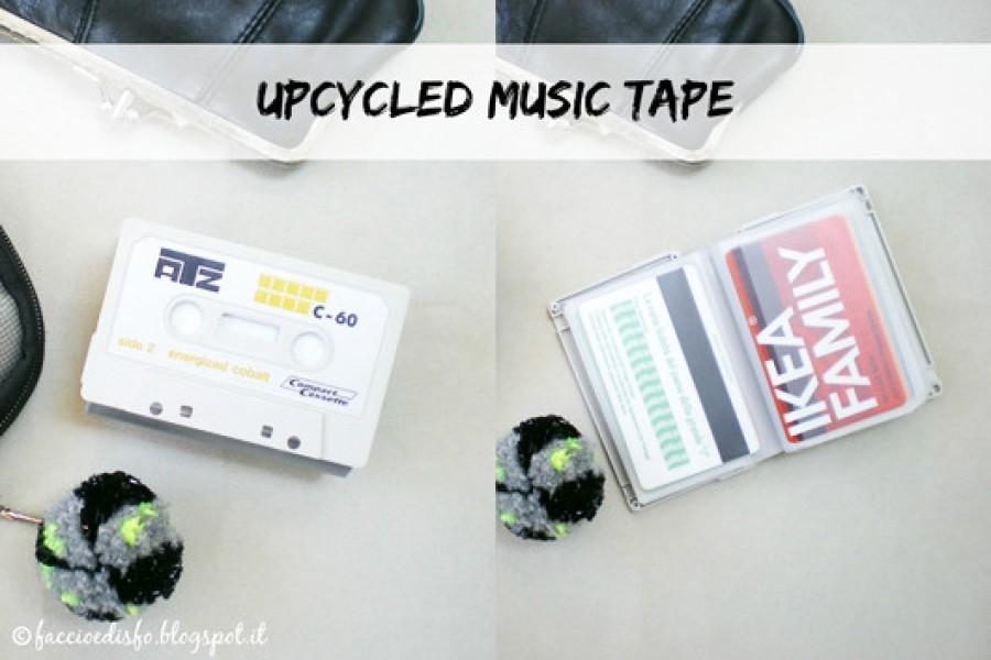 Guest post: da music tape a portatessere con il tutorial di Faccio e disfo