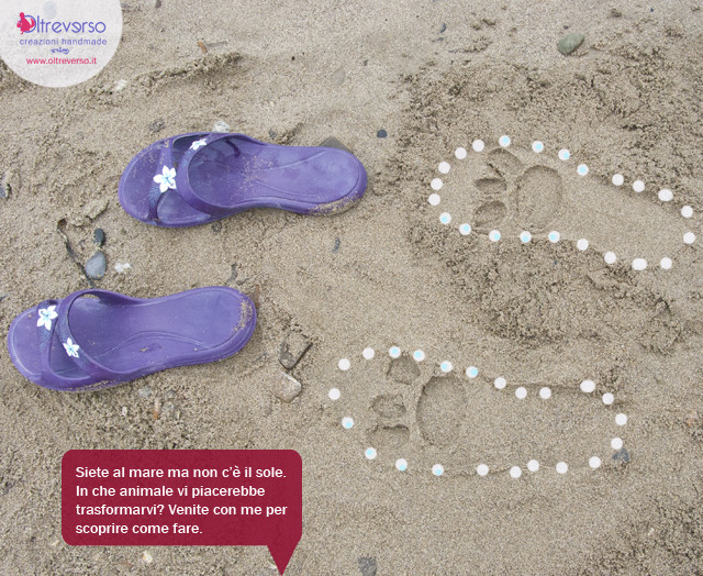 ciabatte-mare-impronte-spiaggia-lavoretti-bambini-riciclo-tutorial