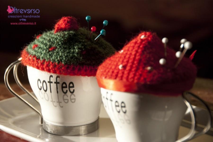 Un puntaspilli all'uncinetto per i vostri knit cafè