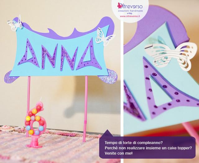 cake topper party diy handmade decorazioni festa compleanno  butterfly farfalla