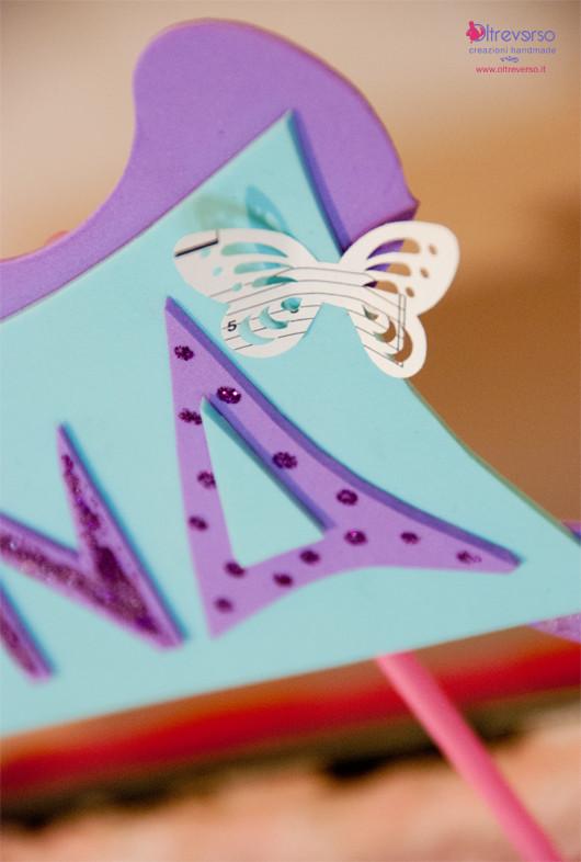 decorazioni festa compleanno concerto party diy handmade butterfly farfalla