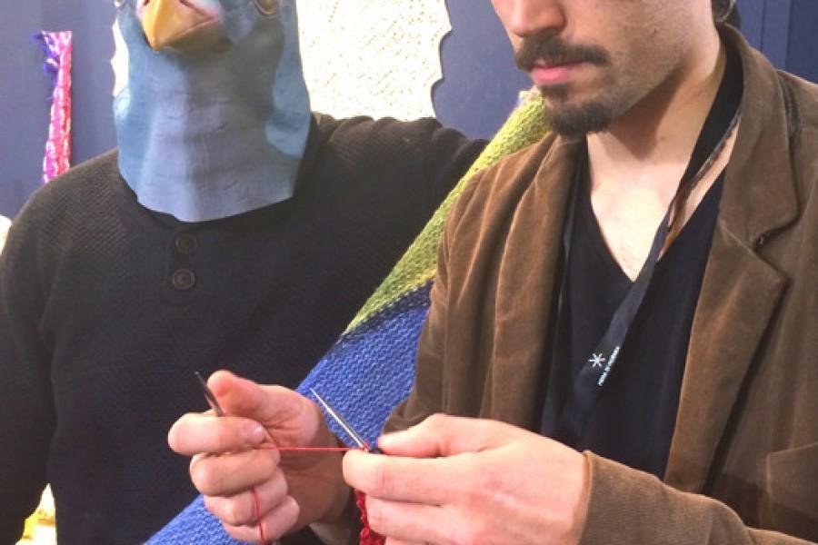 Emma Fassio, Magliuomini, Kate Alinari e il tipo strano all'Atelier crochet e tricot di Abilmente