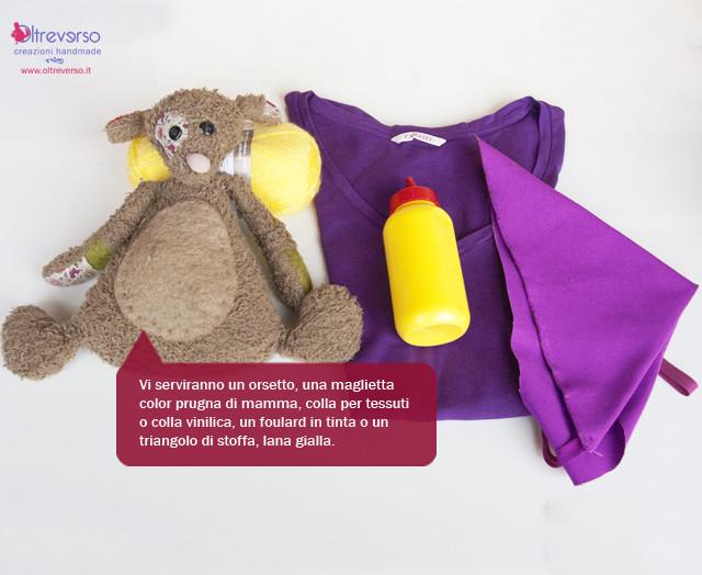 masha e orso tutorial vestito carnevale fai da te