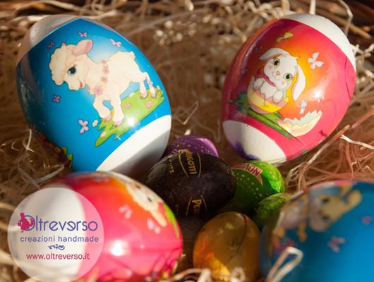 Decorare le uova per pasqua con i bambini con le - Uova decorate per bambini ...