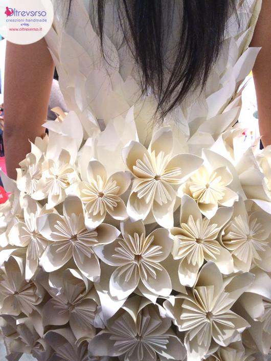 vestito carta monica dal molin abilmente 2015 inaugurazione