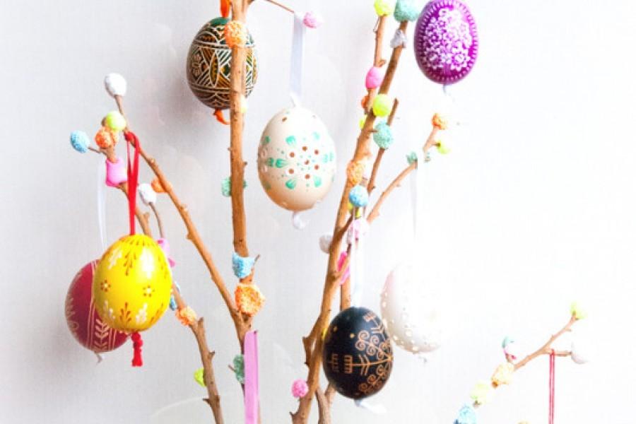 Lavoretti di Pasqua con i bambini con le paste modellabili