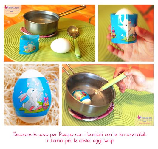 Decorare le uova per pasqua con i bambini con le termoretraibili le easter eggs wrap con tutorial - Decorare le uova per pasqua ...