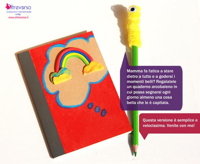 quaderno festa della mamma agenda personalizzata