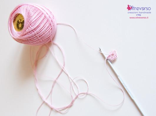 tutorial fiori di melo crochet per guestbook matrimonio country chic