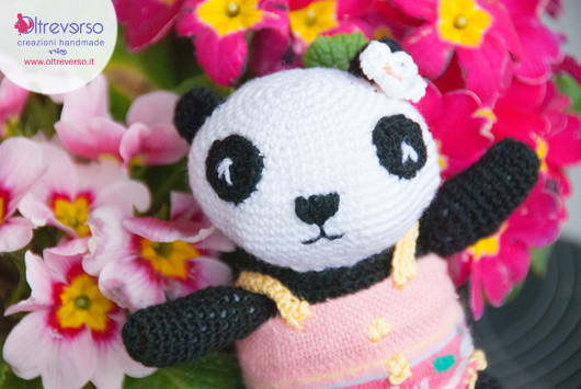 Una famiglia di panda amigurumi: come fare