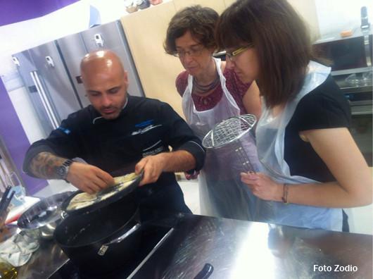 Atelier di cucina da Zodio con Cannibale Masterchef