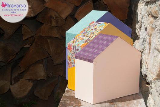 ripiani casetta mensola legno handmade diy