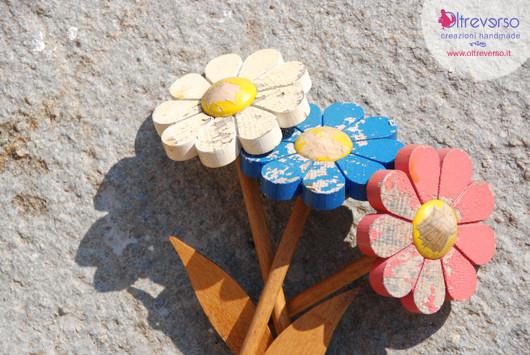 come restaurare fiori in legno con il dremel