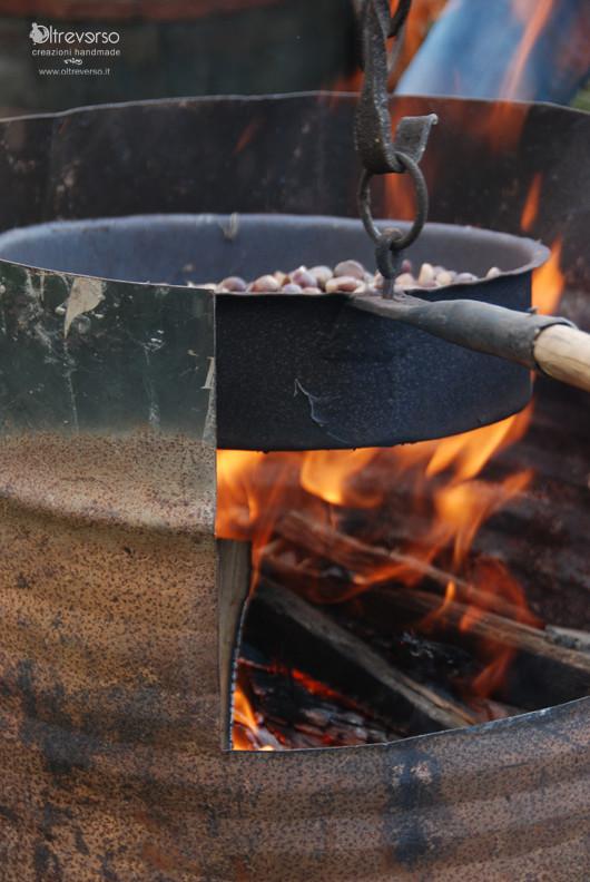 Il grembiule per raccogliere le castagne coi bambini for Raccogliere castagne