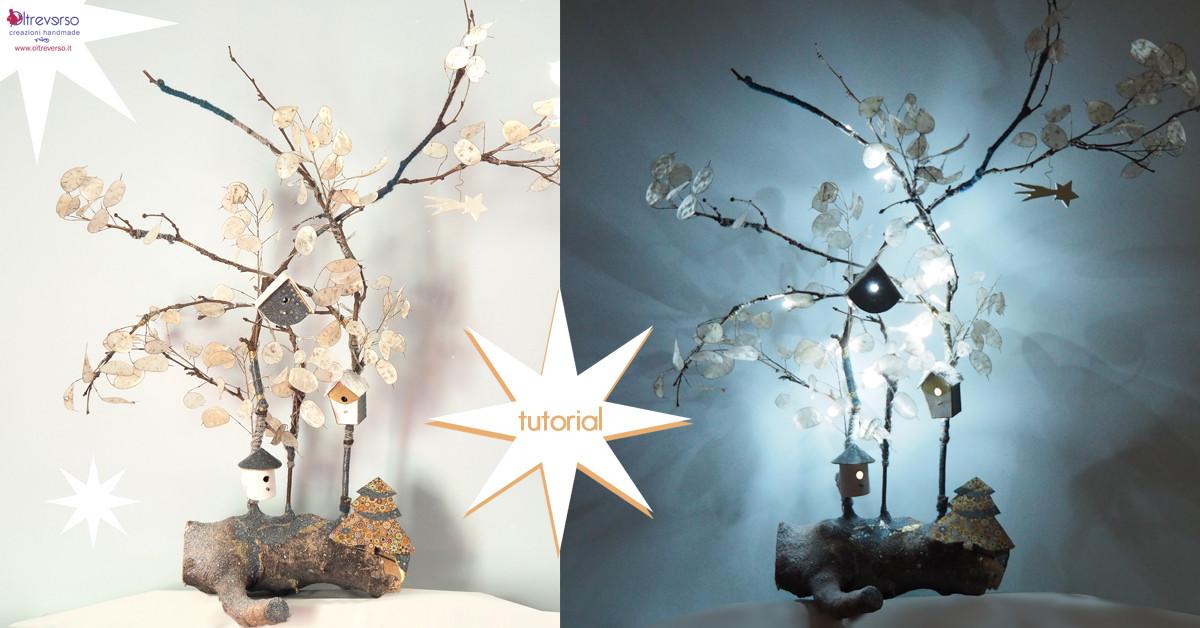 Luci di natale fai da te con tutorial - Decorazioni natalizie legno fai da te ...