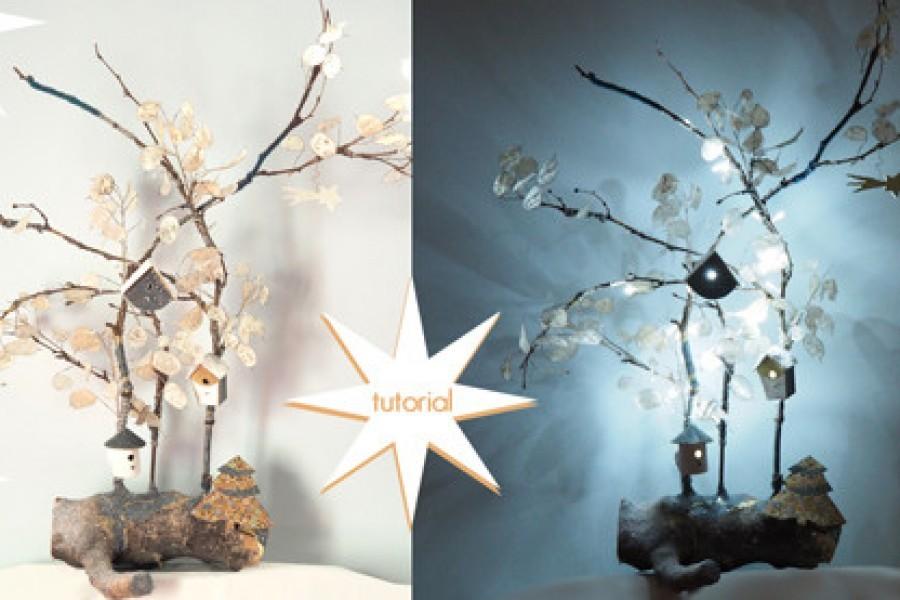Très Lavoretti di Natale per bambini e idee per decorazioni natalizie  OJ36