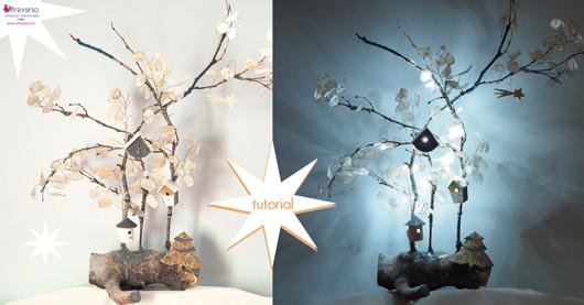 Di luci di Natale, decorazioni e luminarie natalizie fai da te con tutorial e di fiducia